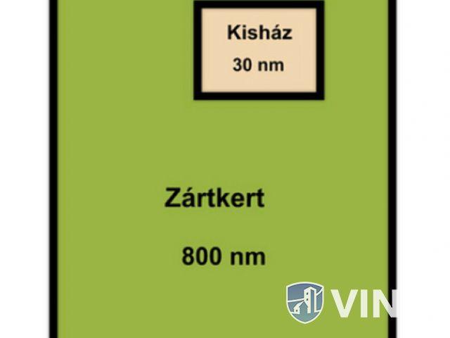 Deszki Zártkert,rohamosan fejlődő részen eladó!
