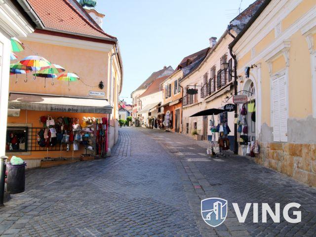 Forgalmas üzlethelyiség kiadó Szentendre sétálóutcáján