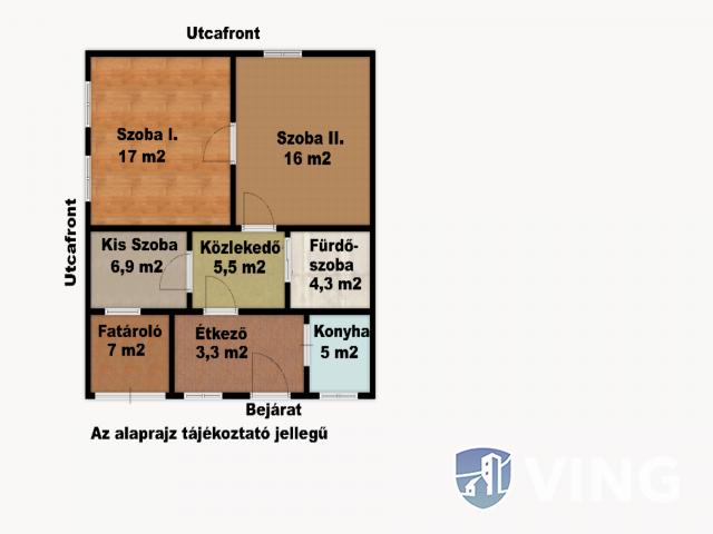 Sándorfalvi Család Ház Parkosított Udvarral