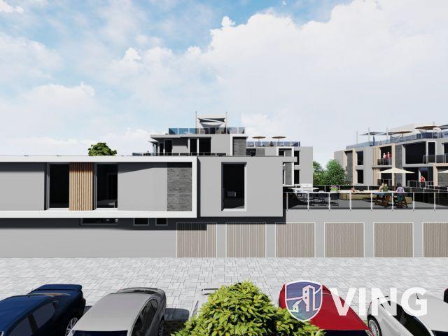 Új építésű lakás, a Balatontól 200 méter távolságra